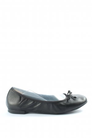 Caprice Foldable Ballet Flats black casual look