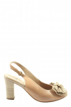 Caprice High Heels nude-creme Casual-Look