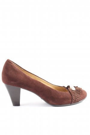 Caprice High Heels braun Casual-Look