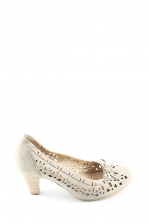 Caprice High Heels wollweiß Casual-Look