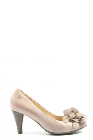 Caprice Hochfront-Pumps creme Casual-Look
