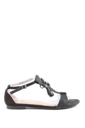 Caprice Sandalo comodo nero stile casual