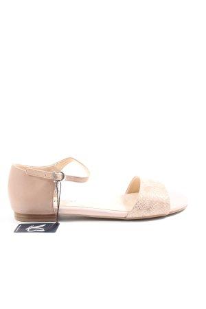 Caprice Comfort Sandals cream casual look
