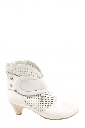 Caprice Short Boots natural white casual look