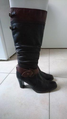 Caprice Heel Boots brown-dark brown