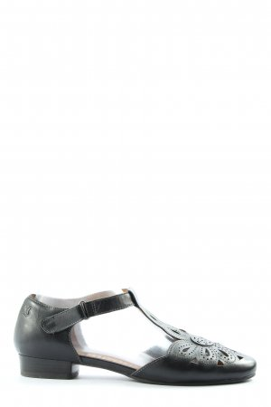 Caprice Zapatos Mary Jane negro look casual