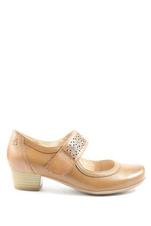 Caprice Chaussures Mary Jane crème style décontracté