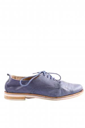 Caprice Oxford blau-nude Casual-Look