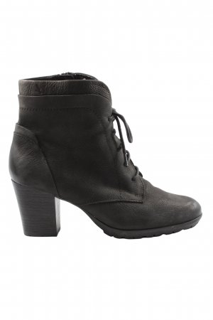 Caprice Lace-up Booties black casual look
