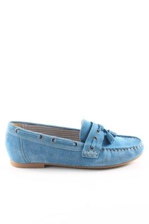 Caprice Zapatos de marinero azul look casual