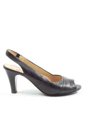Caprice Slingback-Pumps schwarz Casual-Look