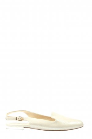 Caprice Slingback pumps goud casual uitstraling