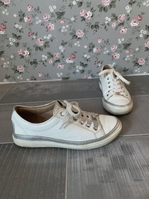 Caprice Sneakers weiß silber Gr. 36