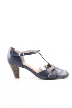 Caprice Spangen-Pumps blau Casual-Look