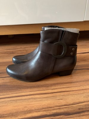 Caprice Ankle Boots grey brown-taupe