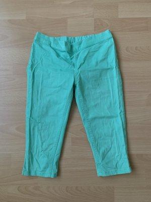 C&A Pantalon capri turquoise-vert menthe