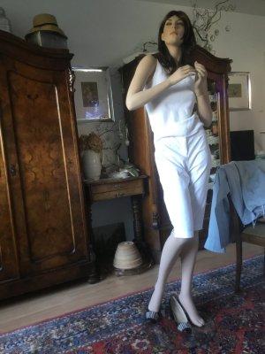 Alba Moda 3/4 Length Trousers white cotton