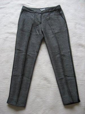 caprihose 7/8hose H&M grau elegant gr. s 36 neu