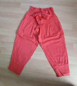 Pantalone Capri rosso chiaro