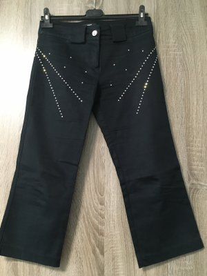 P&T Spodnie Capri czarny