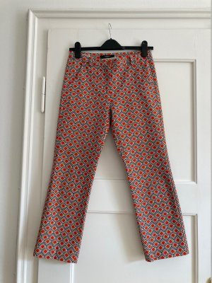 Weekend Max Mara Pantalon capri multicolore coton