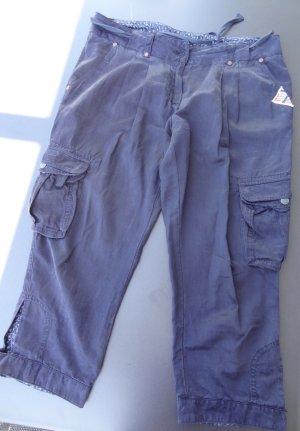 Napapijri Pantalone Capri blu scuro Cotone