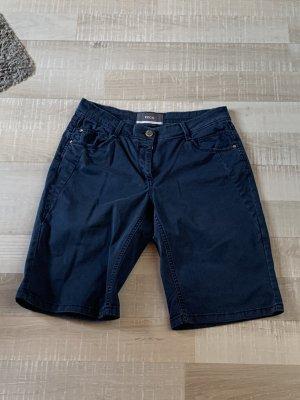 Cecil Pantalone Capri blu scuro