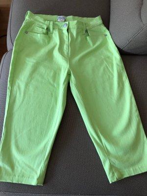 Laura Kent Capris neon green