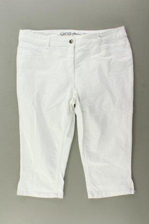 Spodnie Capri w kolorze białej wełny Bawełna