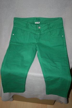 Street One Pantalone Capri verde Cotone