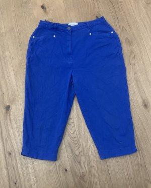 Cassani Jeansowe szorty niebieski Bawełna