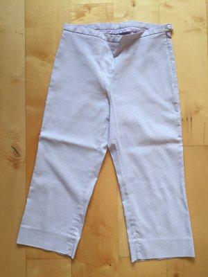 Pantalon capri rose clair coton