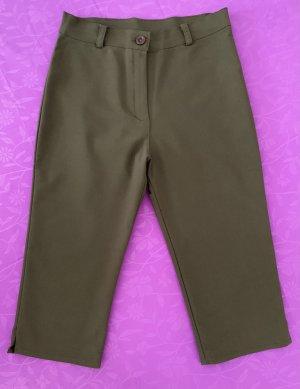 keine Pantalon capri vert olive-kaki