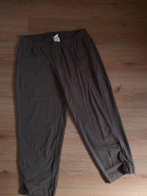 Spodnie Capri khaki Bawełna
