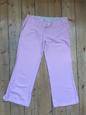 Miss Real Pantalon capri rose clair coton