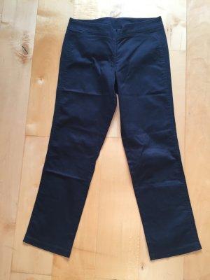 Pantalon capri noir coton