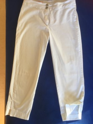 Pantalon capri blanc