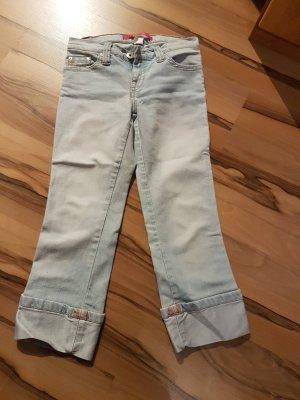 Tally Weijl Pantalone Capri azzurro
