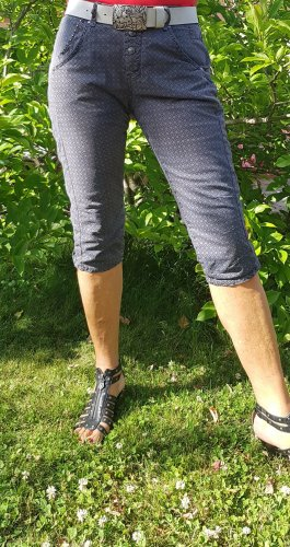 Pantalon capri multicolore