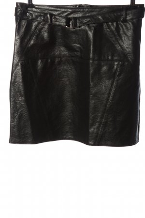 Capsule Mini rok zwart casual uitstraling