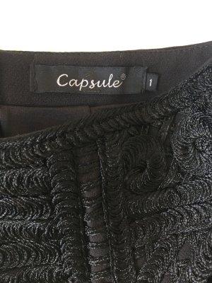 Capsule Mini rok zwart Polyester