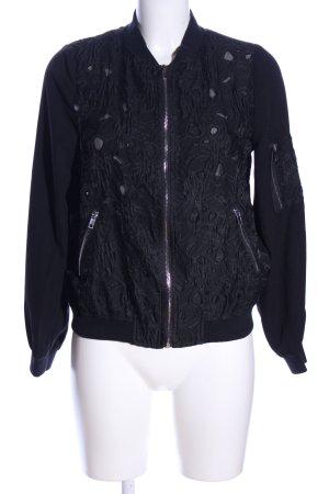 Capsule Shirtjack zwart casual uitstraling