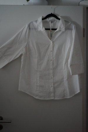 Capsule Koszulowa bluzka biały Bawełna