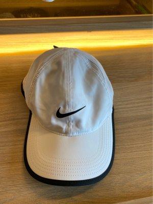 Nike Platte pet wit-zwart