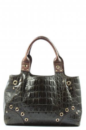 Car Shoe Carry Bag black-brown animal pattern casual look