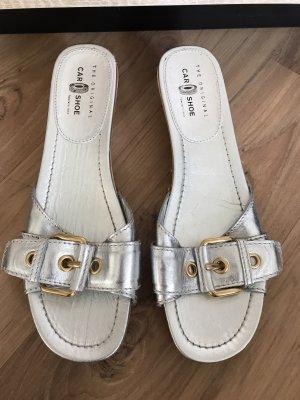 Car Shoe Socque argenté-doré