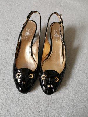 Car Shoe Décolleté modello chanel nero Pelle