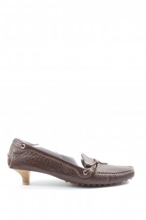 Car Shoe Loafers brown casual look