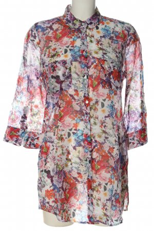 Cara Shirt met lange mouwen bloemenprint casual uitstraling