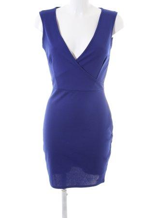 Cara Mia Stretchkleid blau Casual-Look
